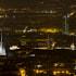 Turin skyline by night