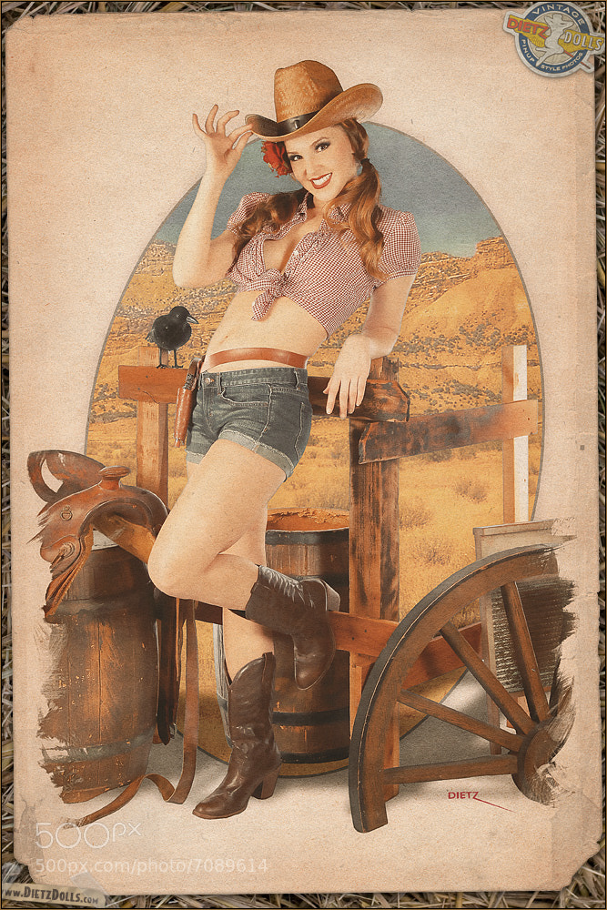 Photograph Cowgirl by Britt Dietz on 500px