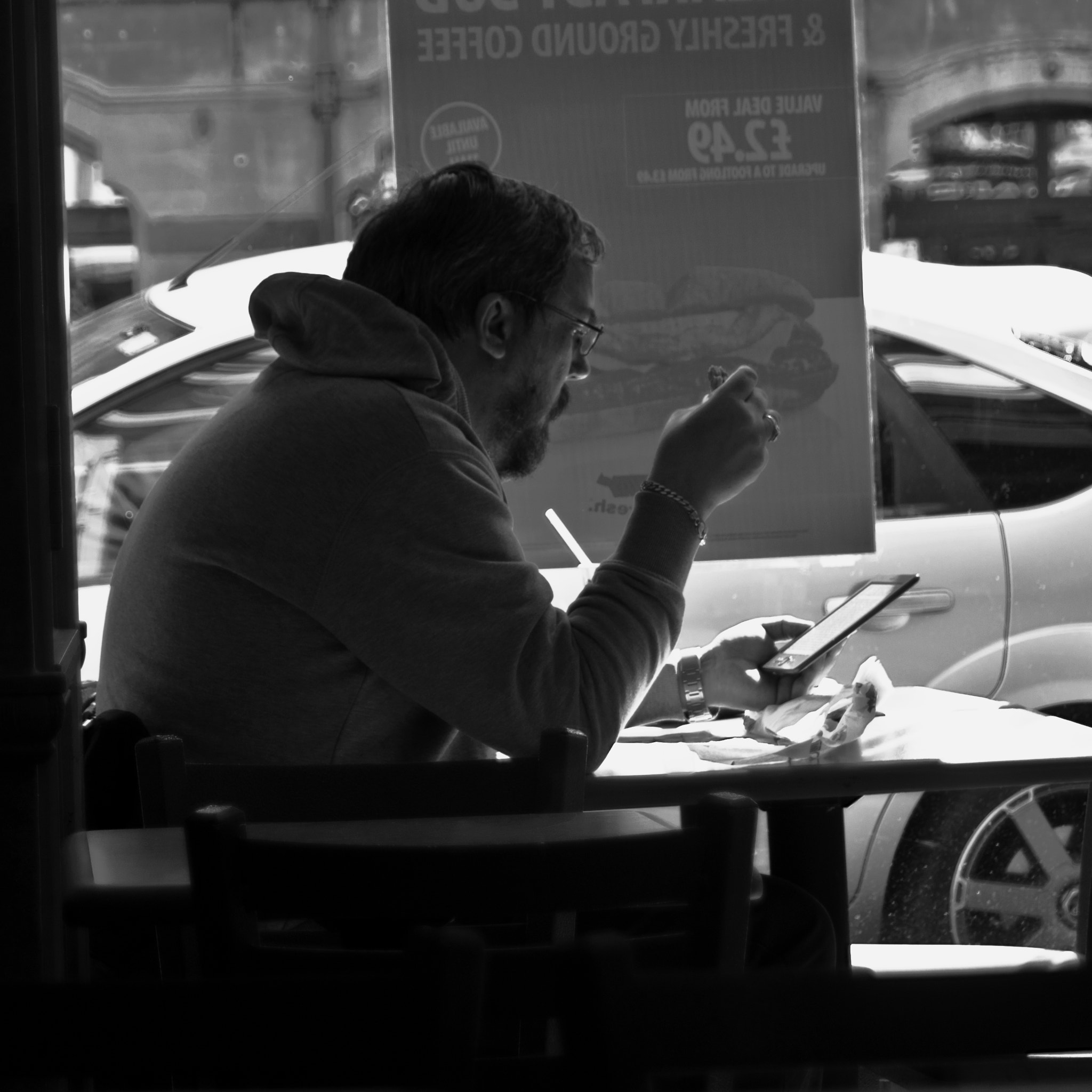 Photograph Words over Lunch by Steve Campbell on 500px