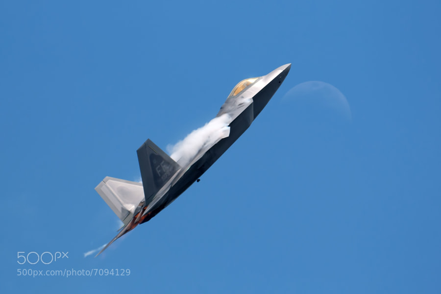F-22 Raptor at the 2012 Robins AFB Airshow