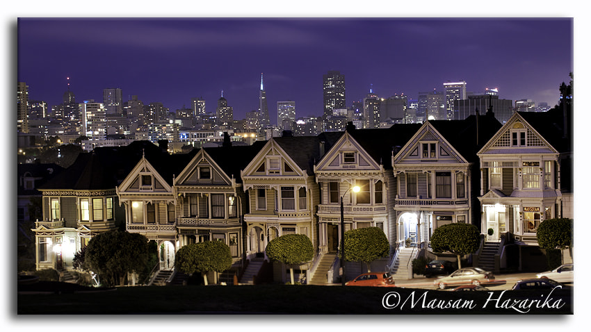 Photograph Painted ladies by Mausam Hazarika on 500px