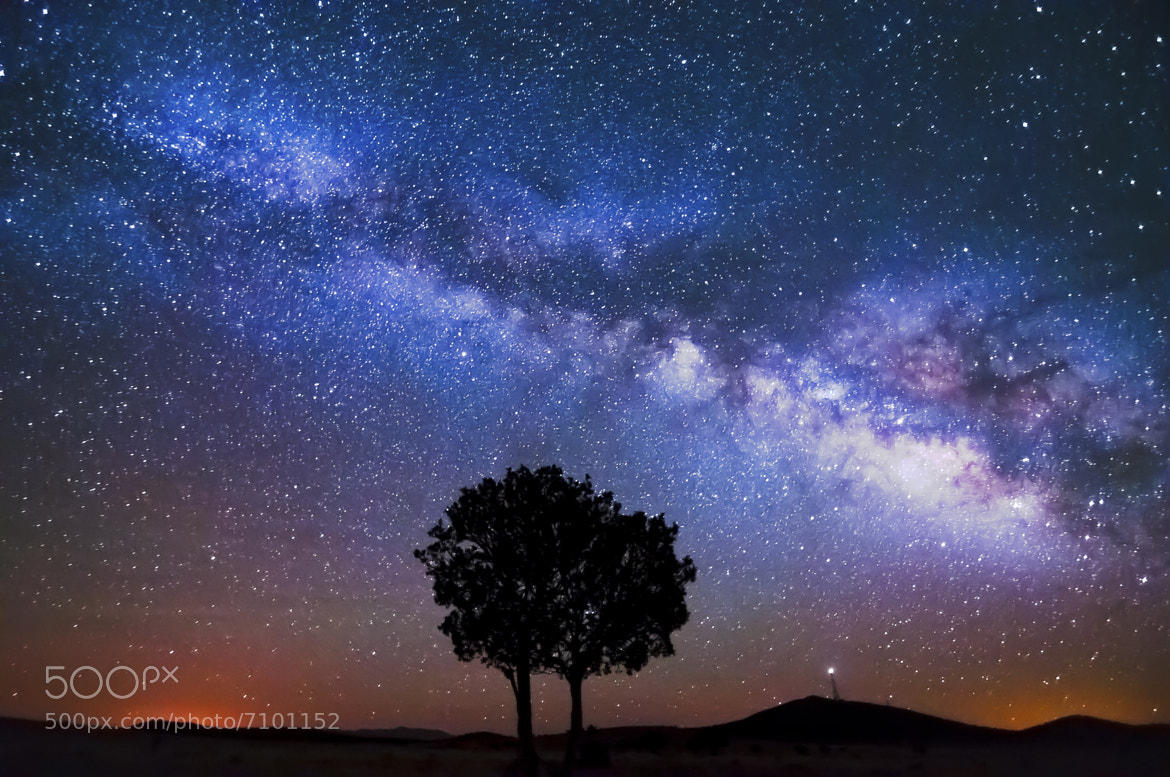 Photograph Milky Way by Knate Myers on 500px