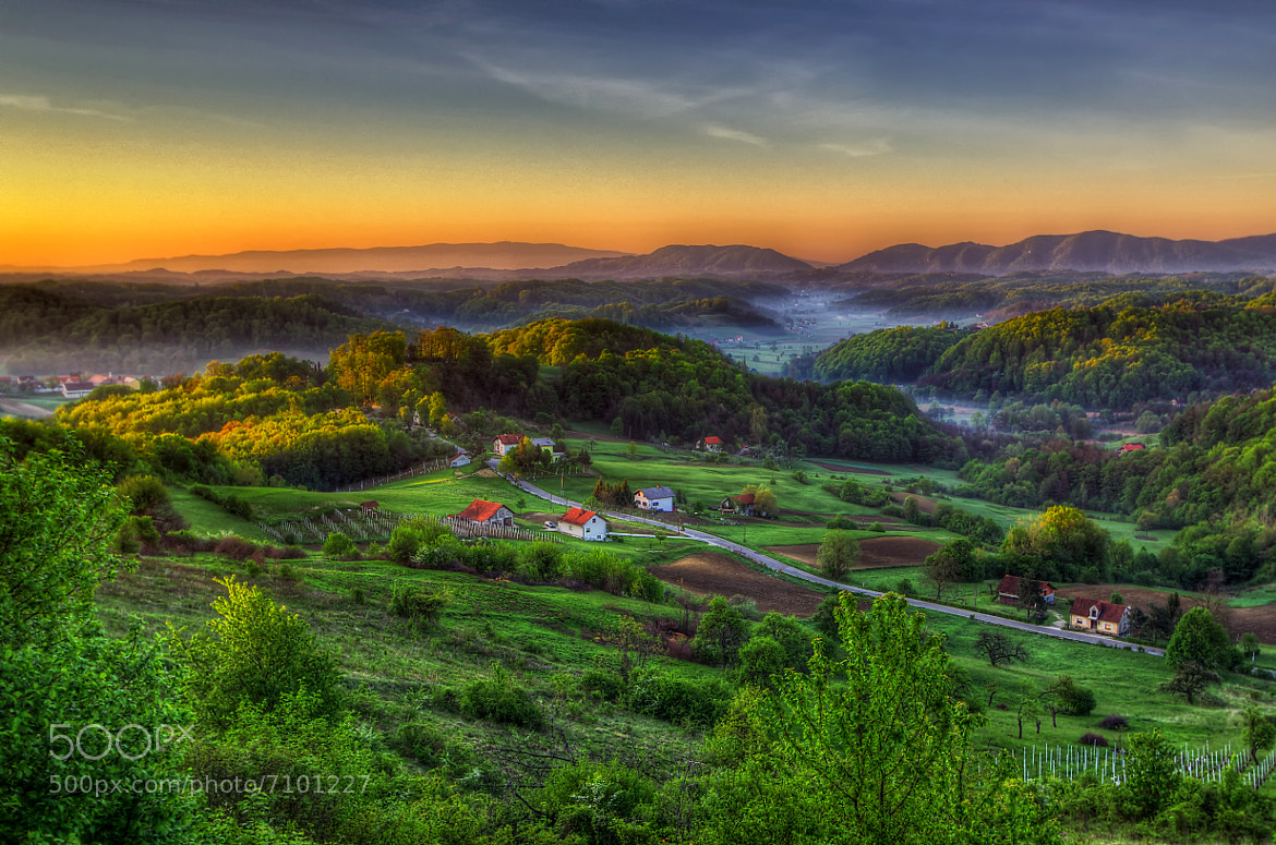 Photograph Zagorje hills by Boris Frkovic on 500px