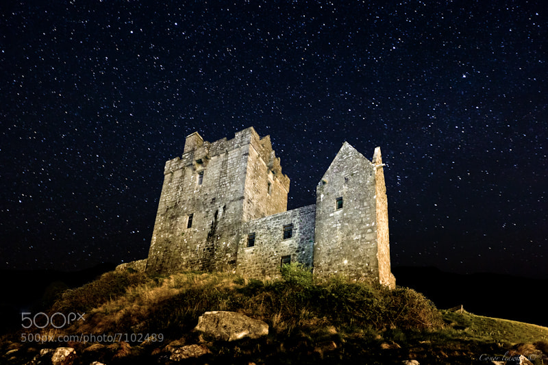 Photograph Dunguire Castle  by conor ledwith on 500px