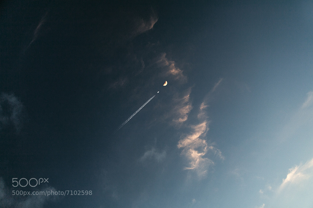 Photograph Fly To The Moon by Pratik Naik on 500px