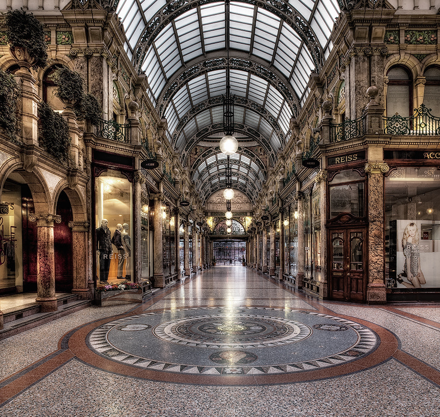 Photograph shopping mall by Les Forrester on 500px