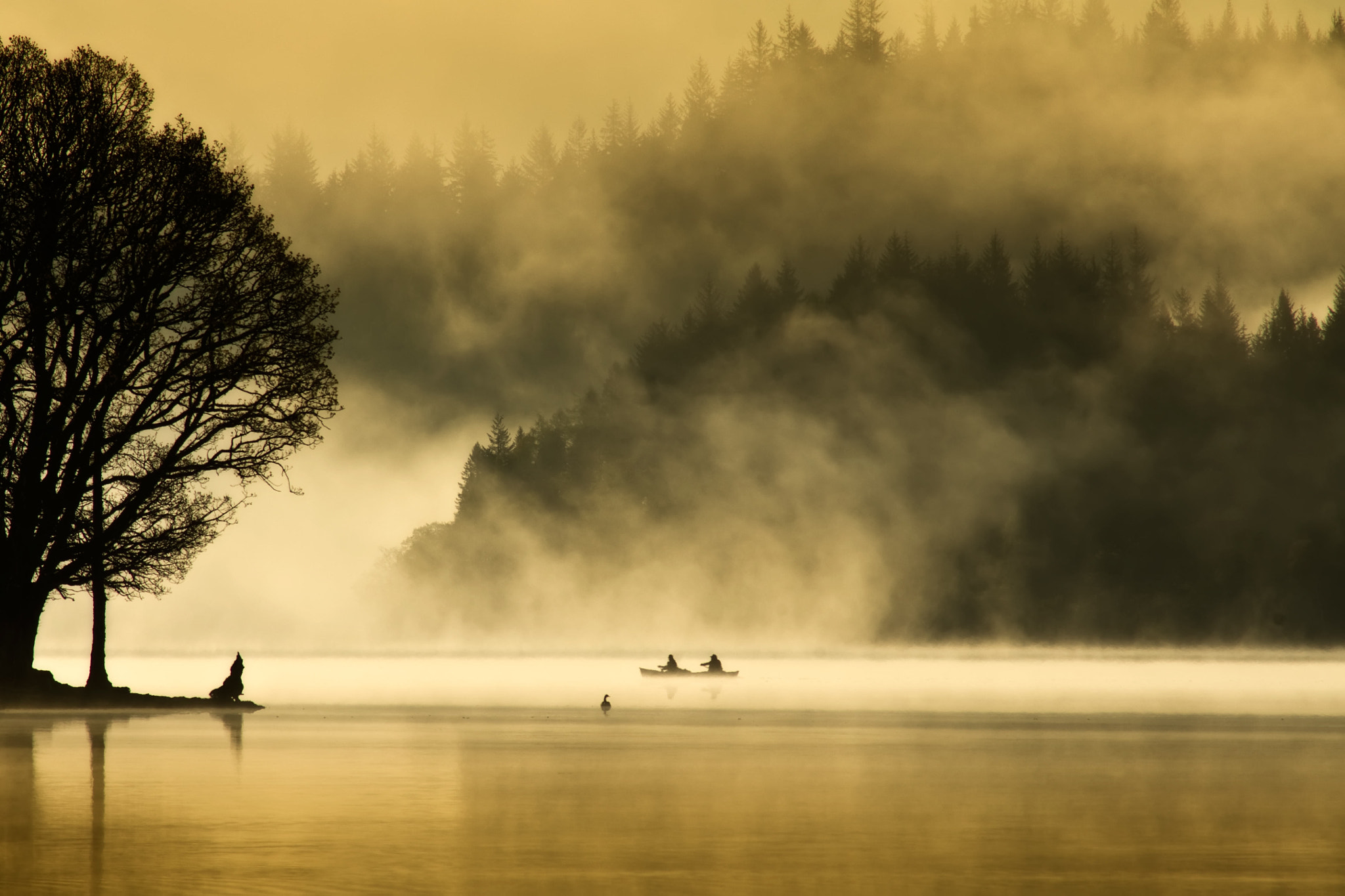 Photograph Loch Ard... by David Mould on 500px