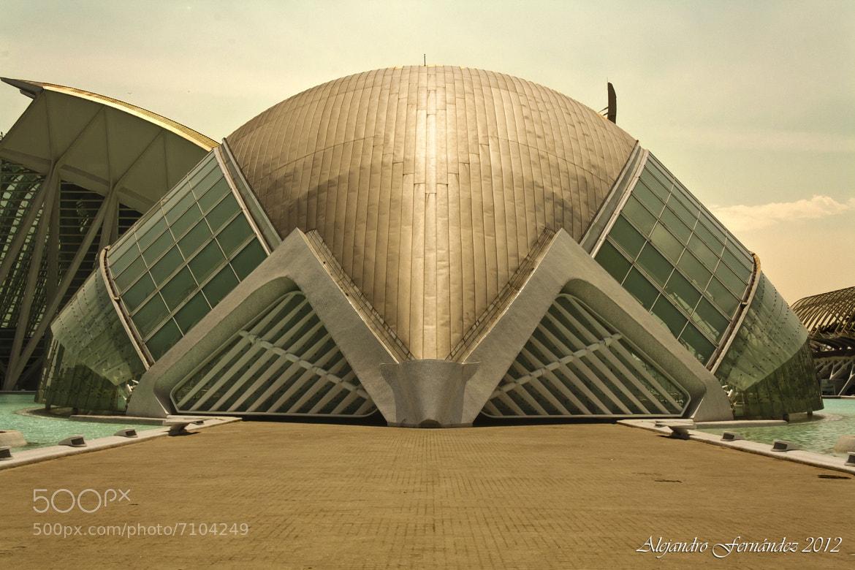 Photograph L'Hemispheric de Valencia (Spain) by Alejandro Fernández on 500px