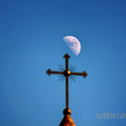 Cross and Moon