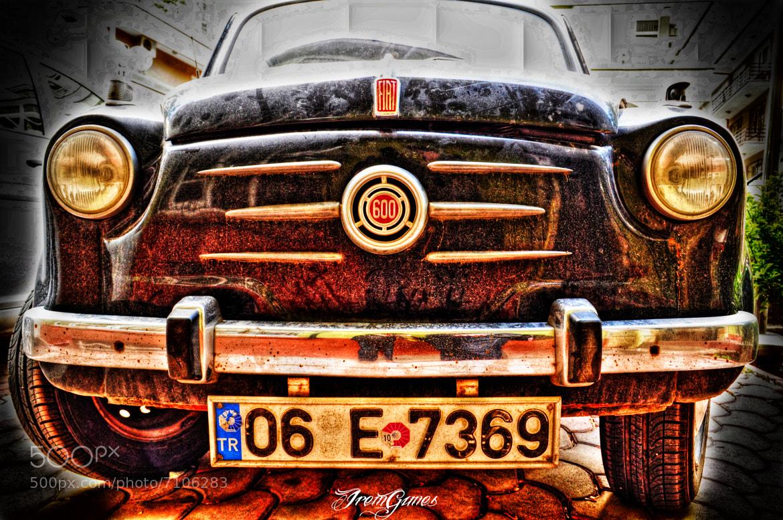 Photograph Fiat 600 by İrem Güneş on 500px