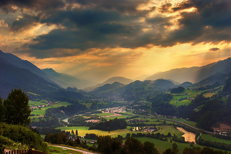 Photograph The Valley by Guy Cohen on 500px