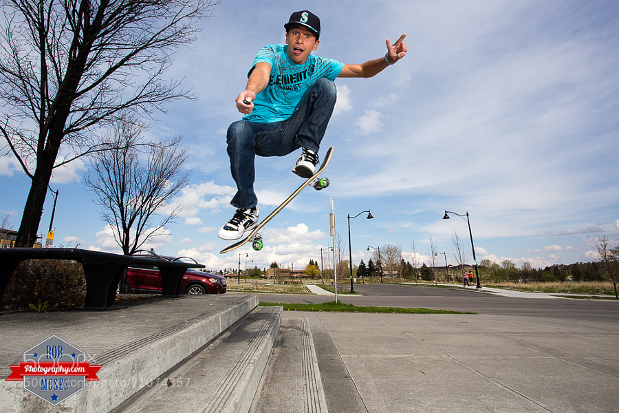 Photograph Skateboarding Selfie by Rob Moses on 500px