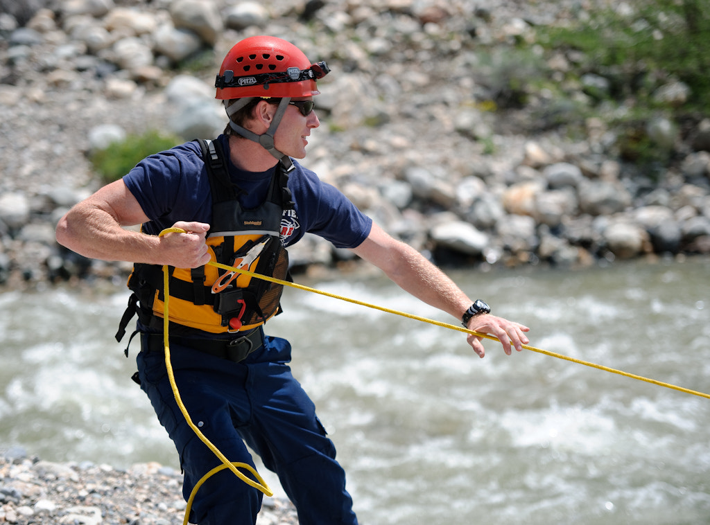 Photograph Swift Water Rescue by Jeff McGrath on 500px