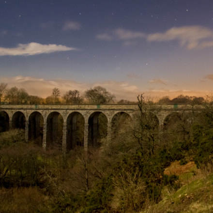 Hartley Viaducts at Night