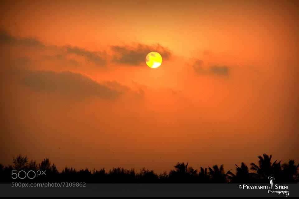 Photograph Sunset @Sulthan Bathery ,Mangalore by PrashanthSheni Photography on 500px