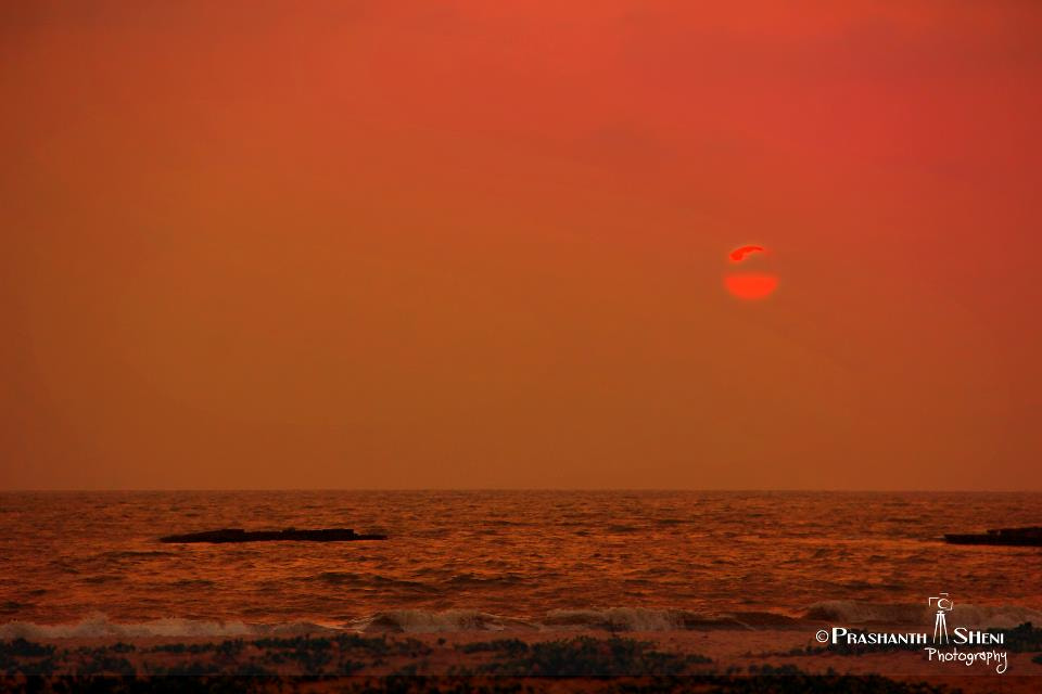 Photograph Sunset @Tannirbavi Beach,Mangalore by PrashanthSheni Photography on 500px