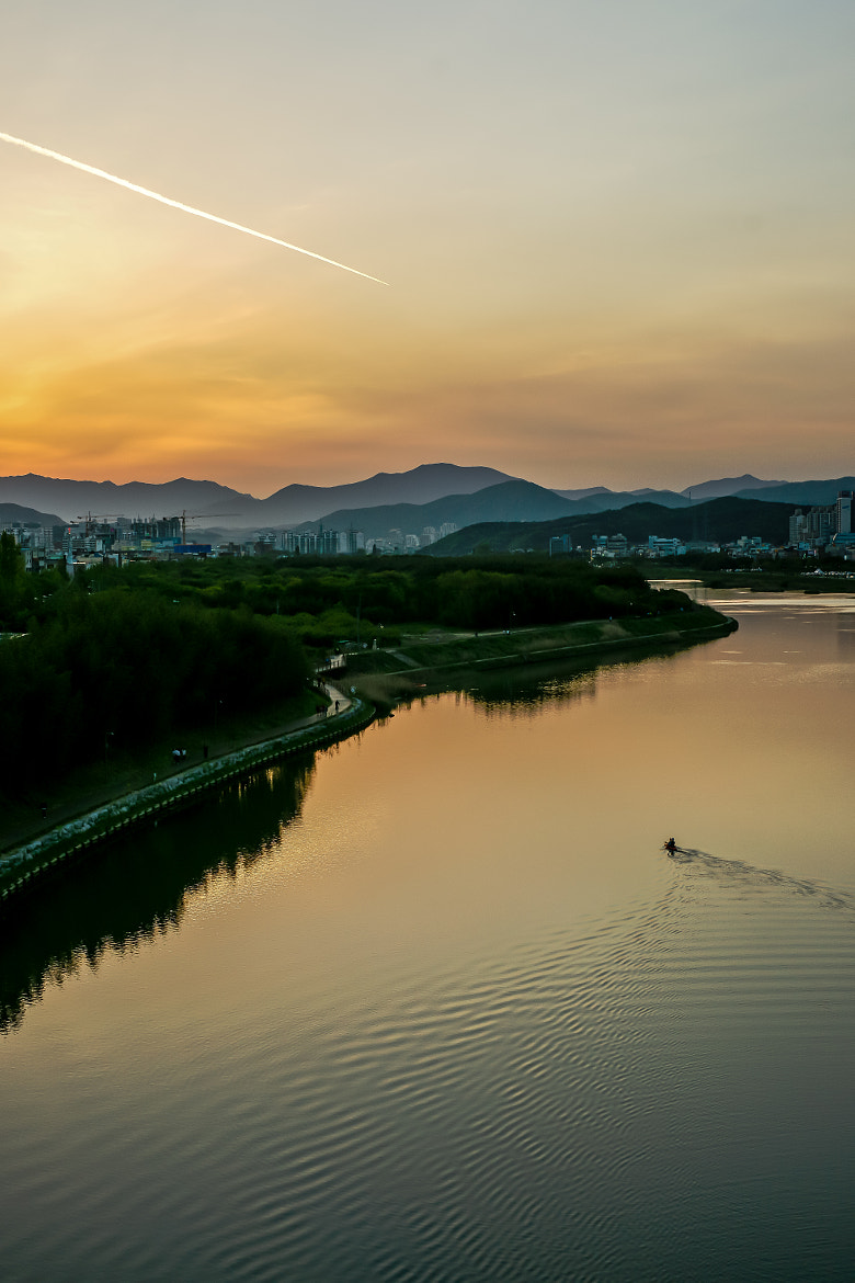 Photograph Sunset by  Yeom on 500px