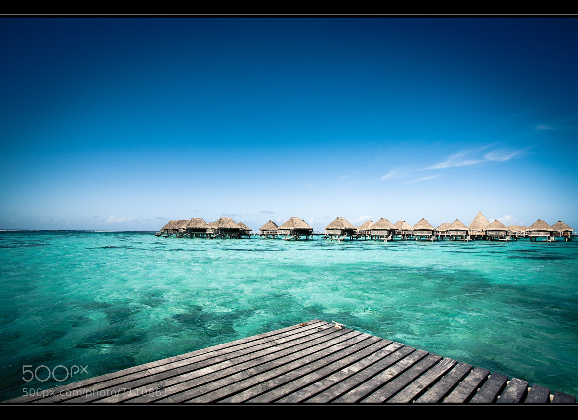 Photograph Overwater Bungalow's by Roger Uceda Molera on 500px