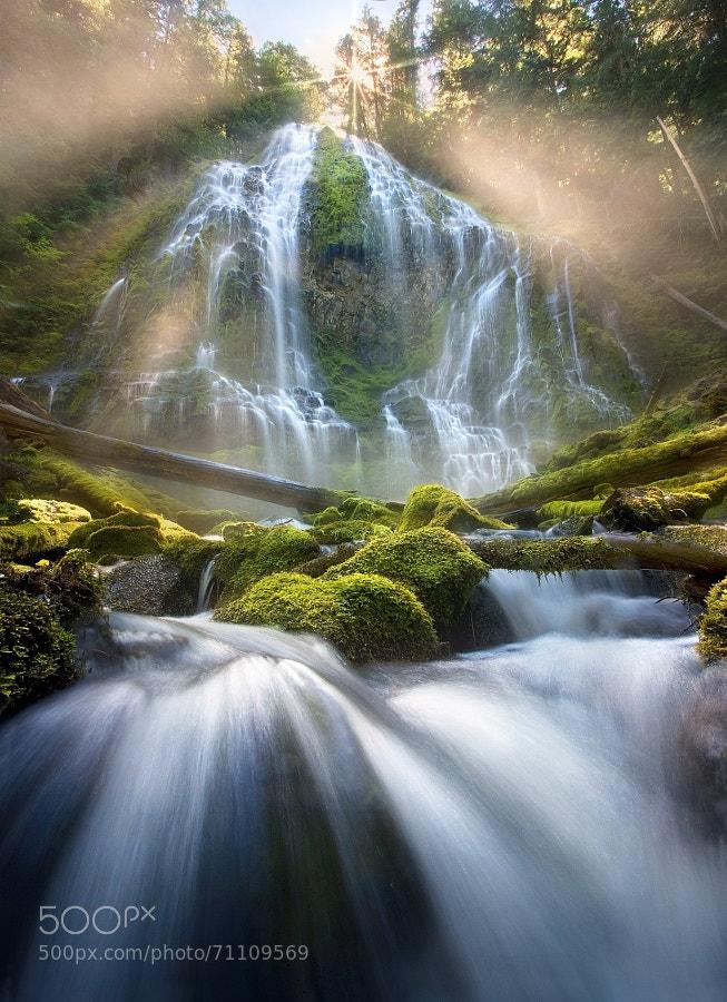 Photograph Sunbeam Falls by Marc  Adamus on 500px