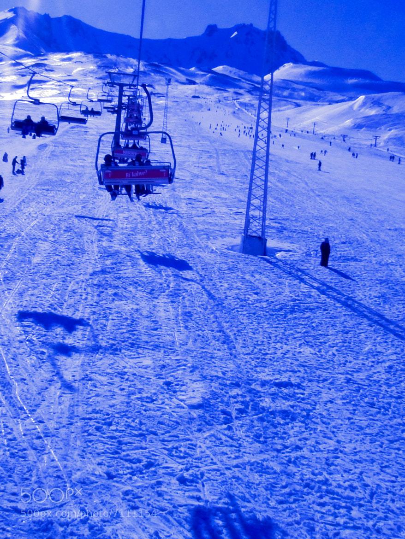 Photograph Erciyes- ski center by KUTAY GÜNER on 500px