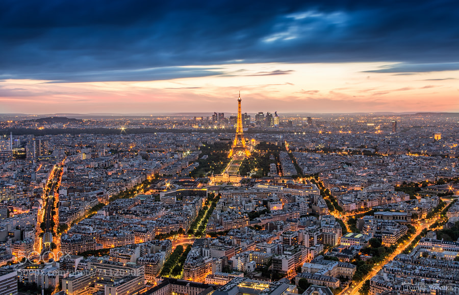Photograph Evening in Paris by Tomáš Vocelka on 500px