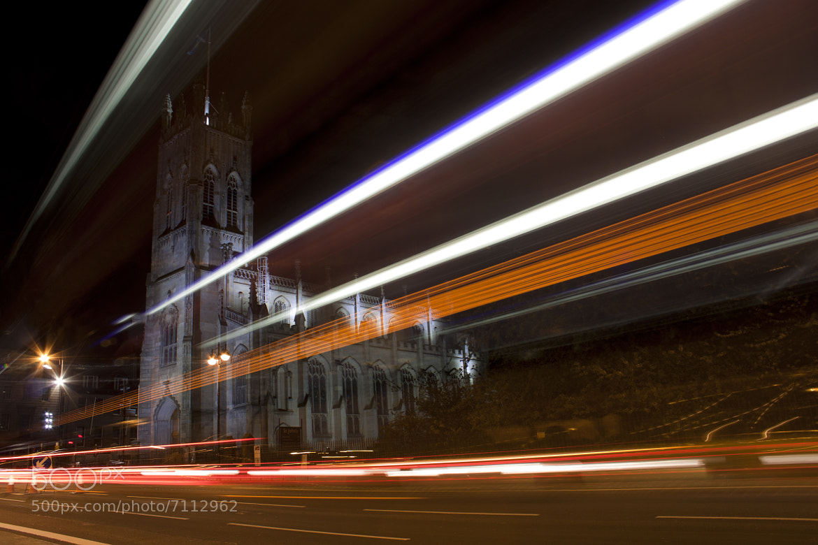 Photograph Streaking in the Night by Andrew Cameron on 500px