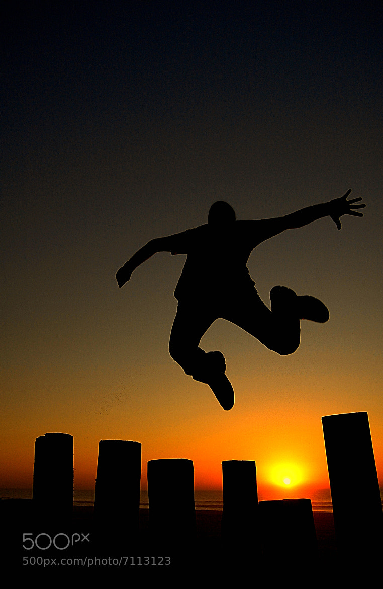 Photograph Jumping to the Sunset by Filipe Sequeira on 500px