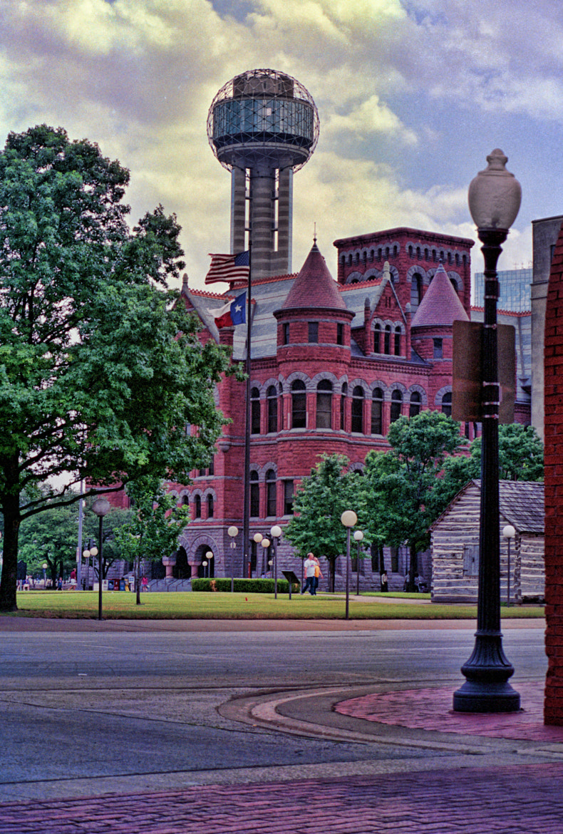 Photograph Red Courthouse Dallas, TX by G.L. Roux on 500px