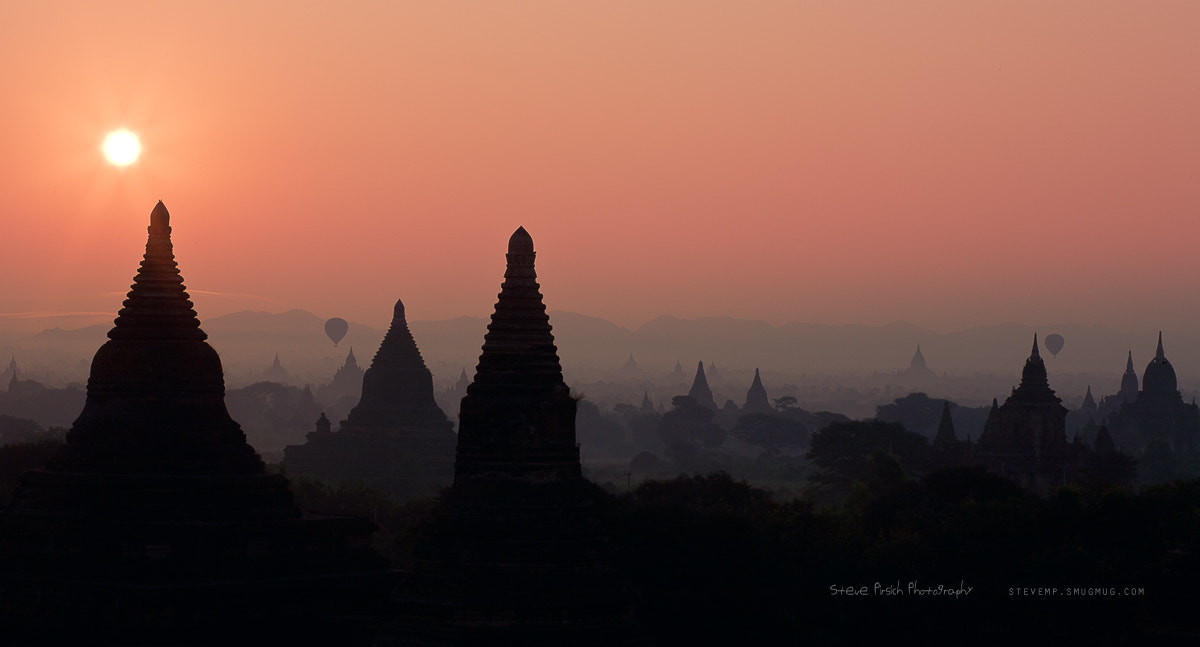 Photograph Bagan sunrise 2 by steve mp on 500px