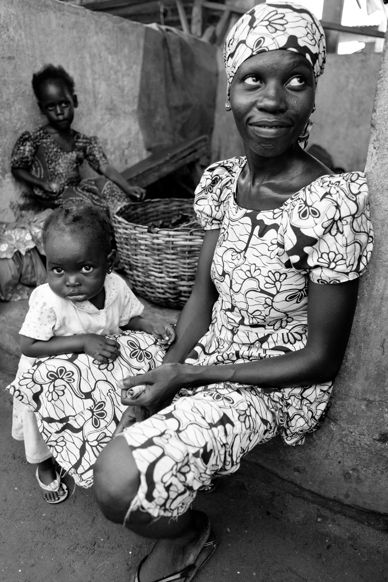 Photograph Woman and Child at the market by E. B. Sylvester on 500px
