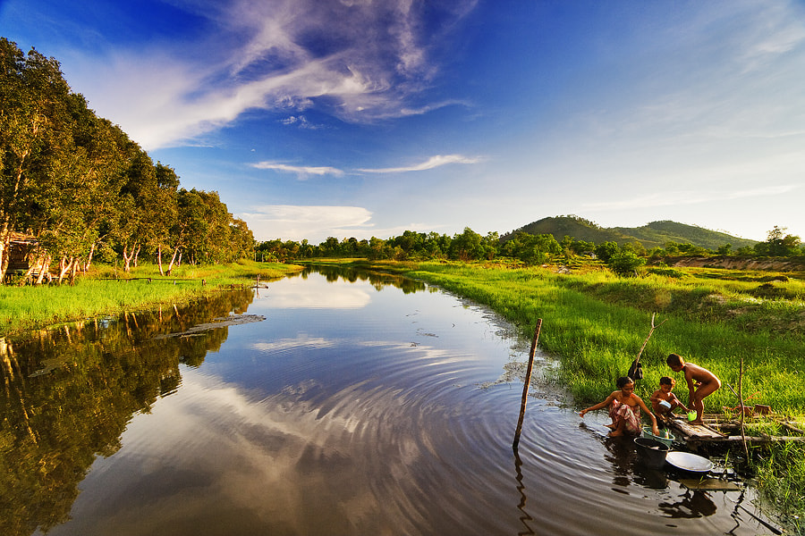 Photograph Samudra River by Bobby Bong on 500px