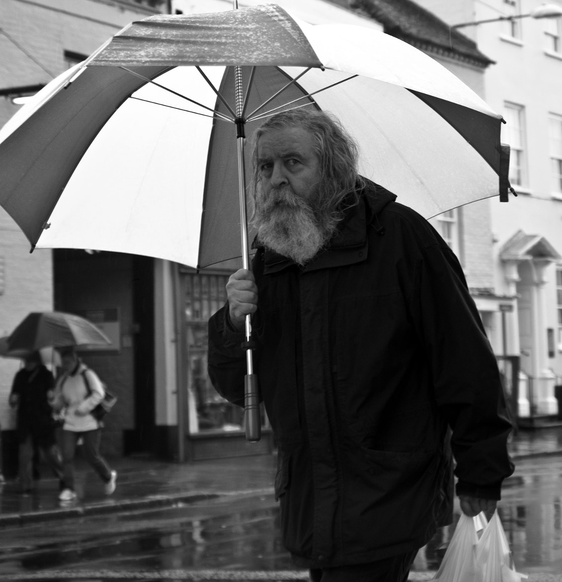 Photograph Bigger the Brolly by Steve Campbell on 500px
