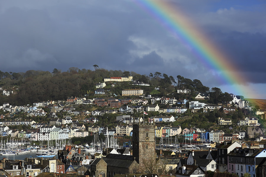 Rainbow over Kingswear