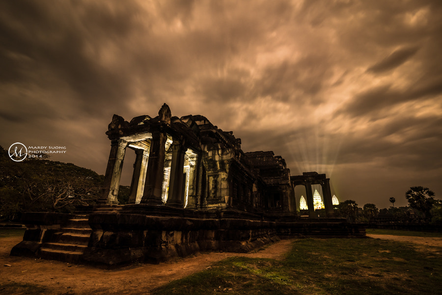 Photograph The Light of Angkor Wat Temple ! by Mardy Suong Photography on 500px