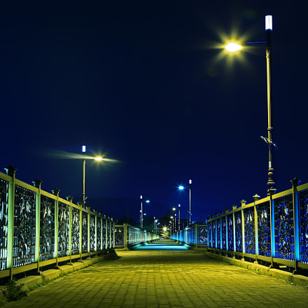 A lighting Bridge