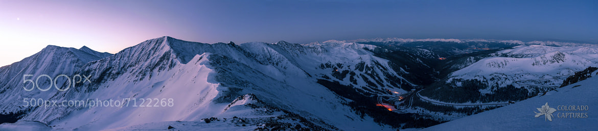 Photograph High Country Twilight Panorama by Mike Berenson - Colorado Captures on 500px