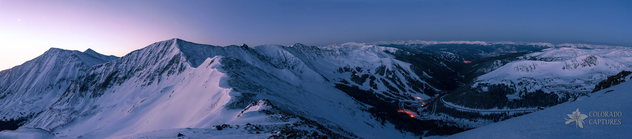 Photograph High Country Twilight Panorama by Mike Berenson on 500px