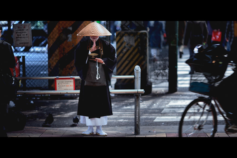 Photograph Praying for Japan by Loic Labranche on 500px