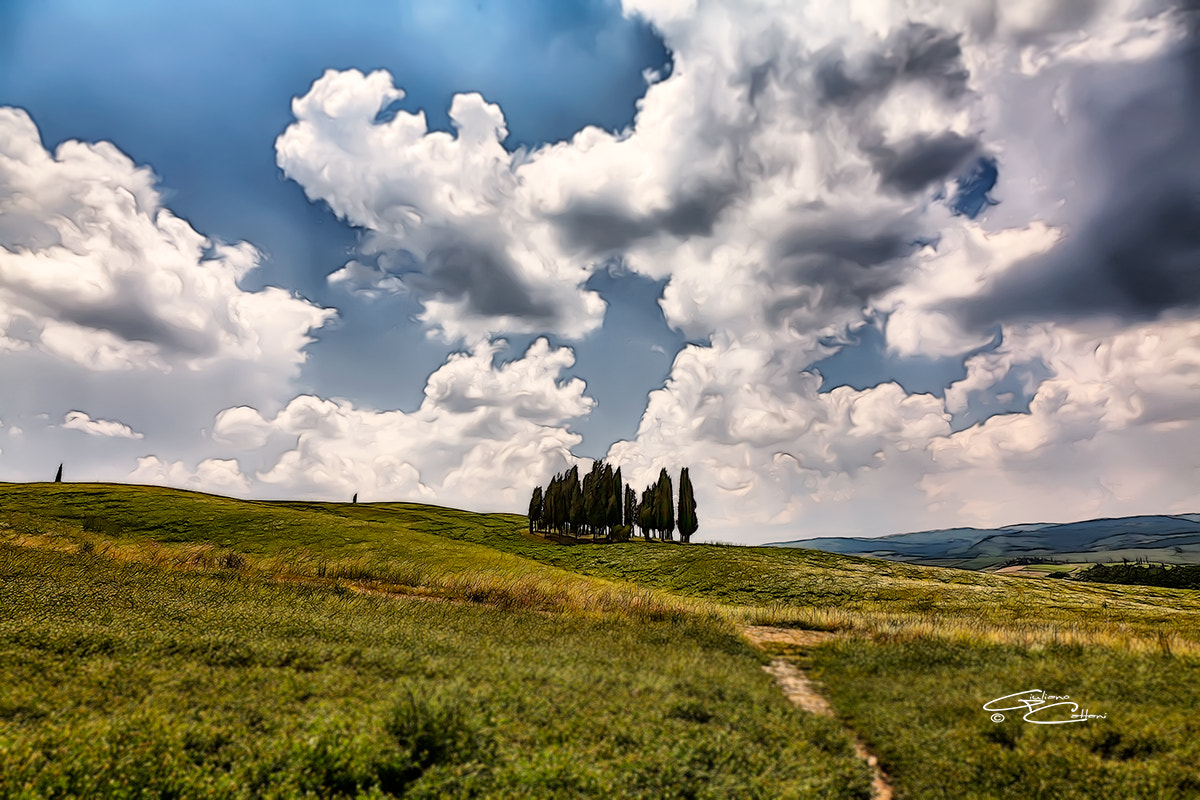 Photograph S. Qurico d'Orcia by Giuliano Cattani on 500px