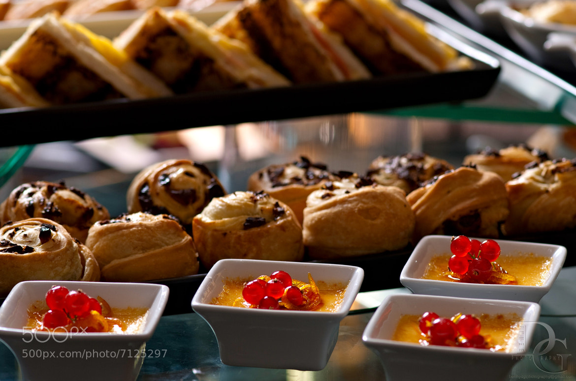 Photograph Berries, Puddings and Bread by Benny De Guzman on 500px