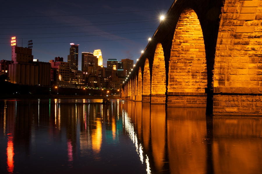 Photograph Minneapolis Skyline by Tomas  Alvarez on 500px