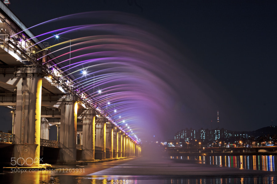 Photograph Rainbow Bridge by Yong Su Park on 500px