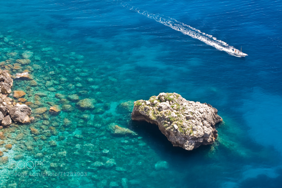 Photograph Sea in Capri by Danilo Ascione on 500px