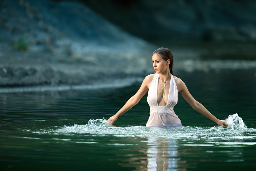Photograph Water girl by Vitaliy Timkiv on 500px