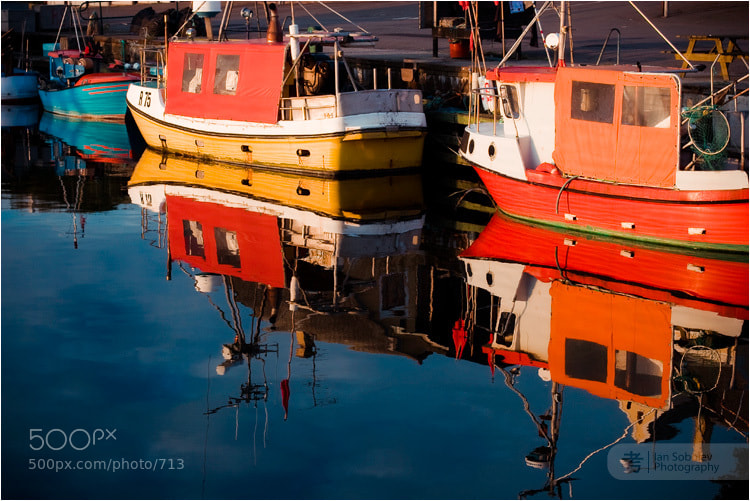 Photograph Sunset at the docks by Evgeny Tchebotarev on 500px