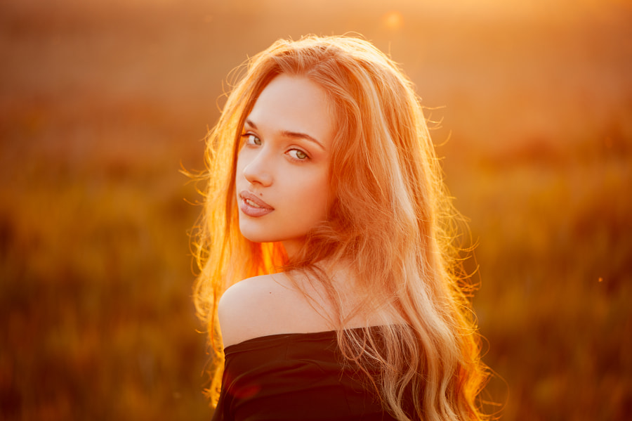 Lena by Ann Nevreva on 500px.com