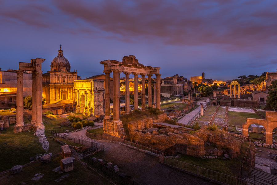 The Roman Forum (Italy) by Vinz Photographies on 500px.com
