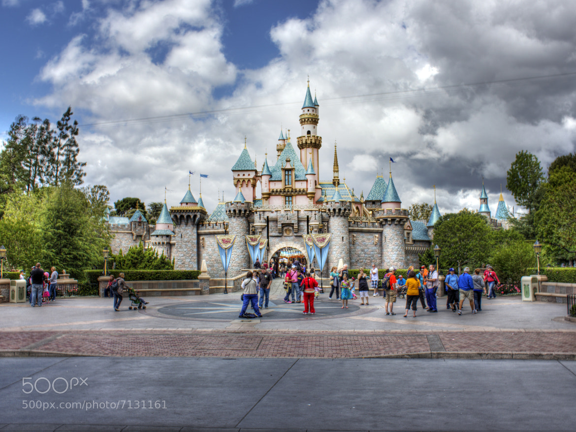 Photograph The Disneyland Castle by Jacob Penderworth on 500px