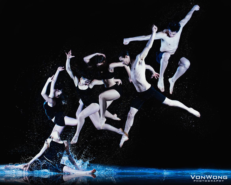 Photograph Frozen water dancers by Benjamin Von Wong on 500px