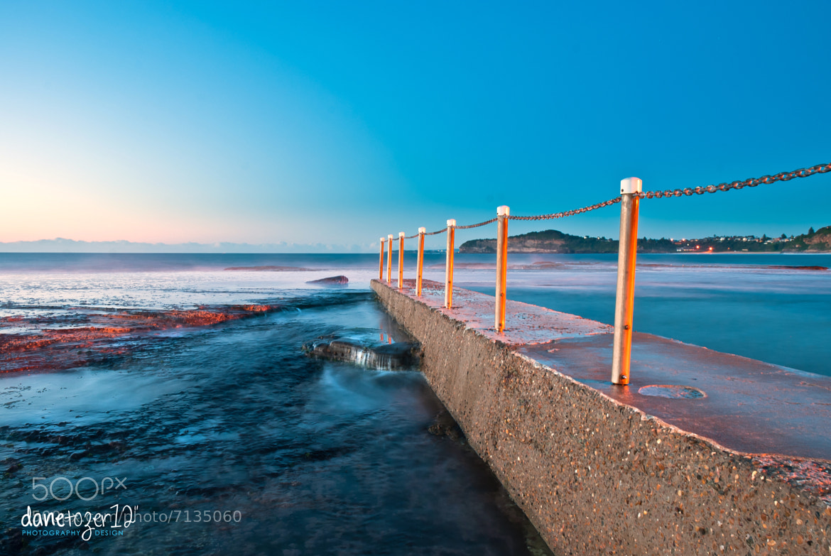 Photograph Mona Vale pool first light by Dane Tozer on 500px